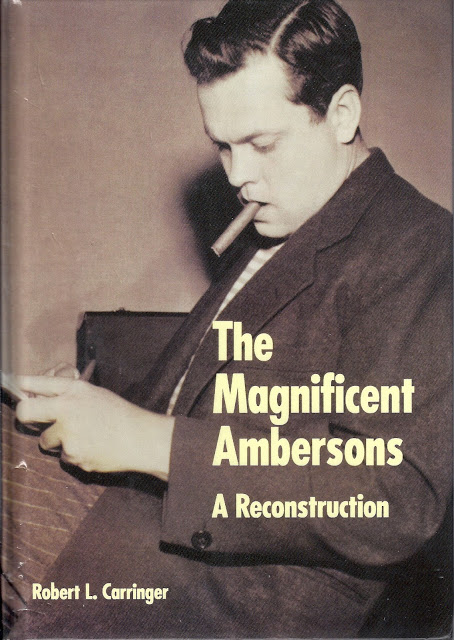 the magnificent ambersons essays